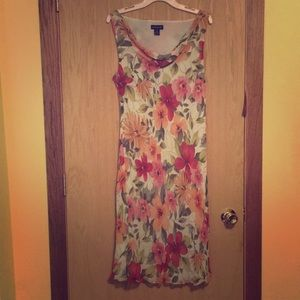 Ann Taylor Plus Size Floral Dress
